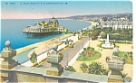 Nice France Harbor Promenade  Postcard