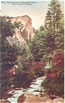 Click here to enlarge image and see more about item p4171: Point Lookout Cheyenne Canyon CO Postcard p4171