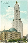 Woolworth Building New York City Postcard p4175