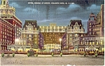 Hotel Dennis Atlantic City NJ Postcard p4181