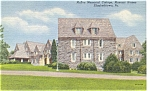 McKee Memorial Cottage Masonic Homes Elizabethtown PA Postcard  p4185