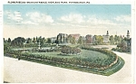 Click here to enlarge image and see more about item p4210: Highland Park Pittsburgh  Postcard  1917