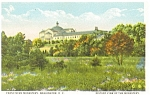 Click here to enlarge image and see more about item p4219: Franciscan Monastery Washington DC Postcard