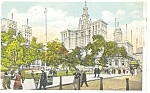 Municipal Building New York City Postcard p4220