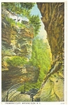 Frowning Cliff Watkins Glen NY Postcard