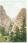 Click here to enlarge image and see more about item p4237: Pillars of Hercules CO Postcard p4237
