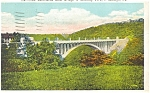 Click here to enlarge image and see more about item p4247: Beechwood Blvd Bridge Pittsburgh PA Postcard p4247