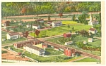Click here to enlarge image and see more about item p4256: Air View  Greenfield Village MI Postcard p4256