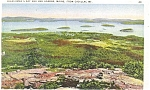 Click here to enlarge image and see more about item p4259: Bar Harbor Maine Postcard p4259