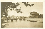 Click here to enlarge image and see more about item p4273: Rome Ponte e' Castel Postcard