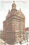 Click here to enlarge image and see more about item p4281: Columbus Building Chicago Postcard