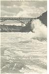 Niagara Falls Whirlpool Rapids Postcard