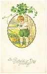 Click here to enlarge image and see more about item p4297: St. Patrick's Day Postcard