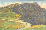 Pikes Peak Highway CO Postcard