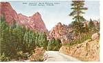 Click here to enlarge image and see more about item p4378: Gateway North Cheyenne Canyon CO Postcard p4378