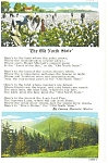Click here to enlarge image and see more about item p4405: Old North State Poem, K.T. Postcard