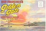 San Francisco Souvenir Folder Postcard