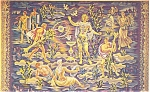 Click here to enlarge image and see more about item p4419: United Nations New York Tapestry Postcard