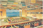 United Nations Trusteeship Council Postcard p4420