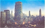 Midtown New York City Postcard