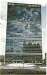 Click here to enlarge image and see more about item p4431: United Nations Building New York City Postcard p4431