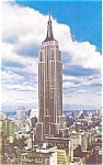 Empire State Building New York Postcard