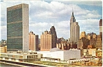Click here to enlarge image and see more about item p4441: United Nations Complex New York City Postcard p4441