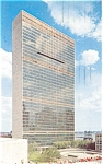 Click here to enlarge image and see more about item p4443: United Nations Headquarters Postcard