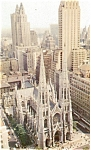 St Patrick s Cathedral New York City Postcard p4446