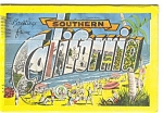 Click here to enlarge image and see more about item p4469: Southern California Souvenir Folder p4469