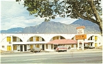 Click here to enlarge image and see more about item p4486: Casa Marquis Motor Inn Postcard