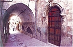 Click here to enlarge image and see more about item p4501: Viddolva za Six St Jerusalem Postcard