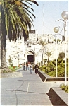 Click here to enlarge image and see more about item p4509: Jerusalem Israel The Old City Jaffa Gate Postcard p4509