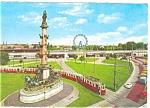 Vienia Trolley Scene Postcard