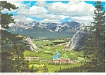 Click here to enlarge image and see more about item p4525: Banff Spings Hotel Canada Postcard