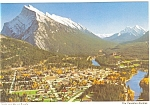 Click here to enlarge image and see more about item p4528: Mount Rundle Canada Postcard