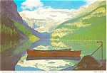 Click here to enlarge image and see more about item p4530: Lake Louise Banff Canada Postcard p4530