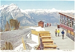 Click here to enlarge image and see more about item p4531: Gondola Teahouse Banff Canada Postcard