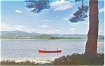 Click here to enlarge image and see more about item p4543: Scenic Canoeing  Postcard