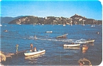 Click here to enlarge image and see more about item p4569: Acapulco Mexico Ski Club Postcard