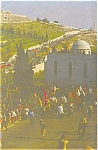 Click here to enlarge image and see more about item p4575: Jerusalem Church of Gethsemane Postcard