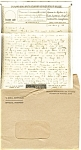 Click here to enlarge image and see more about item p4580:  Victory Mail WWII Example  Postcard