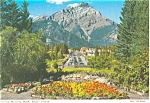 Click here to enlarge image and see more about item p4597: Cascade Mountain Banff Canada Postcard p4597