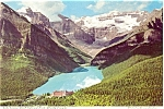 Click here to enlarge image and see more about item p4599: Lake Louise Banff Canada Postcard p4599