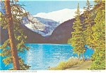 Click here to enlarge image and see more about item p4609: Lake Louise Banff Park Canada Postcard p4609