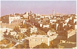 Click here to enlarge image and see more about item p4633: Bethlehem Israel City Postcard p4633