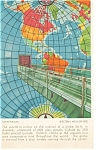 Click here to enlarge image and see more about item p4634: Mapparium Christian Science Boston MA Postcard p4634 1937