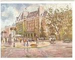 Click here to enlarge image and see more about item p4654: Empress Hotel, Victoria B.C. Postcard