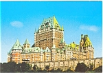 Click here to enlarge image and see more about item p4666: Le Chateua Frontenac Quebec Canada Built 1892 Postcard p4666