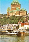 Click here to enlarge image and see more about item p4667: View of Quebec Canada  From Ferry Boat Postcard p4667